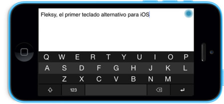Fleksy lanza un programa beta para probar su teclado en iOS 8