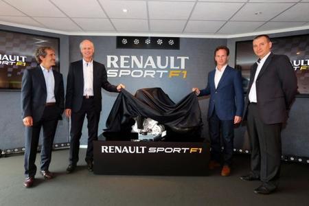 Renault Sports presenta oficialmente su Energy F1 2014