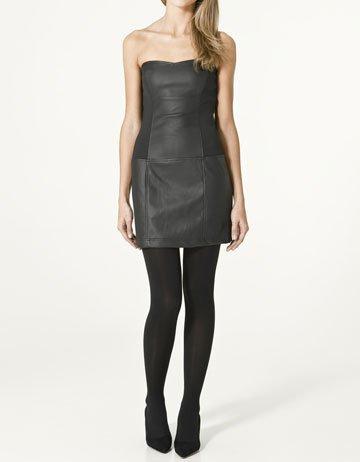 Rebajas 2011: Zara vestido estilo piel