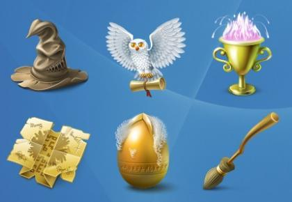 Iconos de Harry Potter