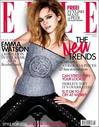 Emma Watson en Elle UK