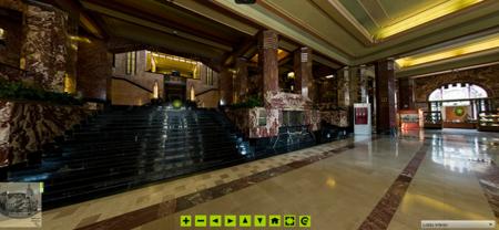 Google Street View te lleva a un recorrido virtual por el Palacio de Bellas Artes