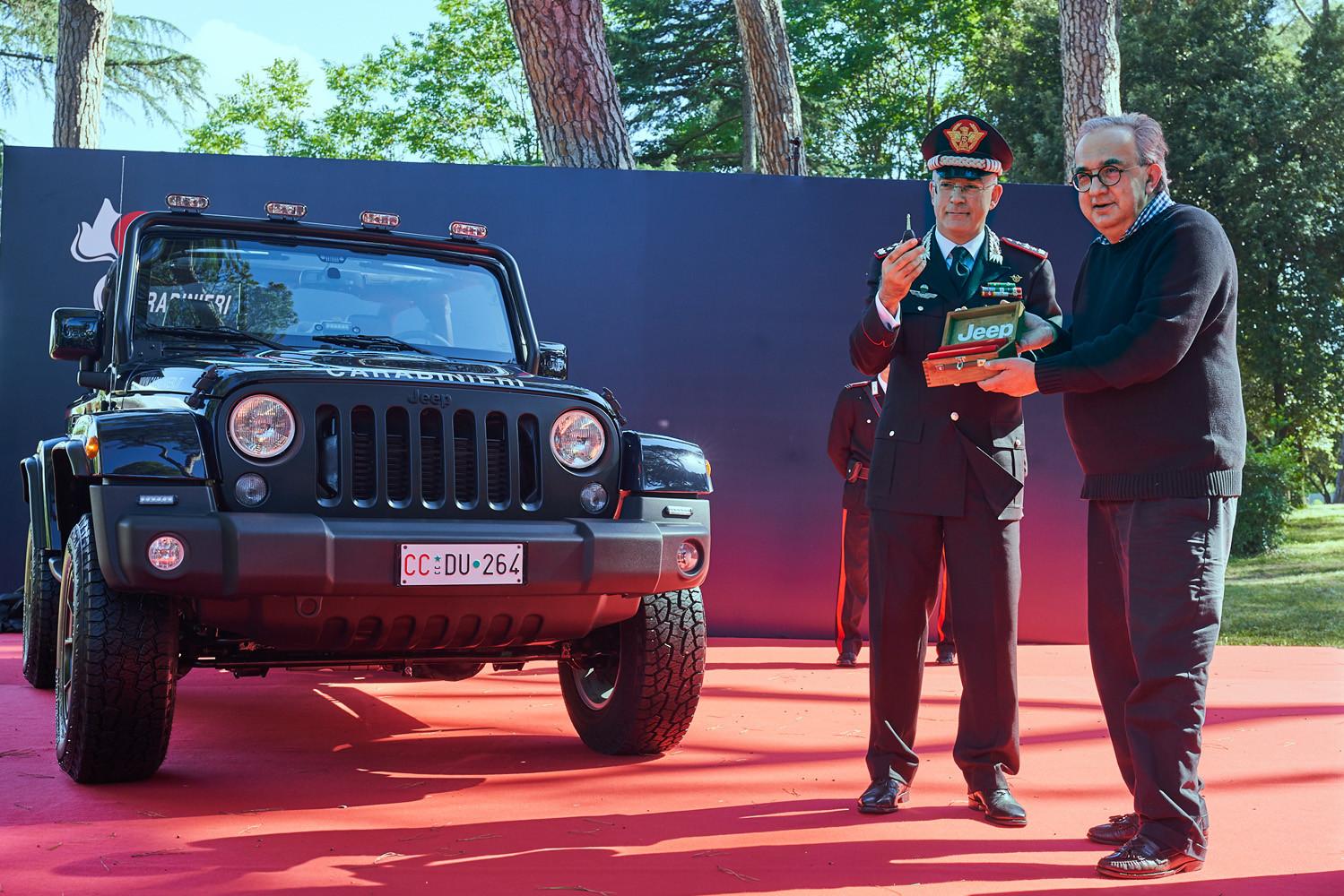 Foto de Jeep Wrangler Carabinieri (1/10)