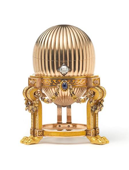 Descubren un huevo Fabergé de oro en el tenderete de un mercadillo, que puede llegar a valer... ¡33 millones de dólares!