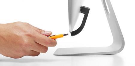 Jimi, el accesorio para los que están hartos de girar el iMac para conectar cables USB