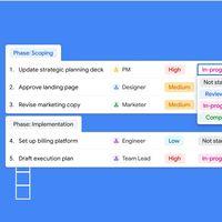 Google lanza Tables, una herramienta gratuita de gestión automatizada de proyectos que rivalizará con Airtable, Trello o Notion