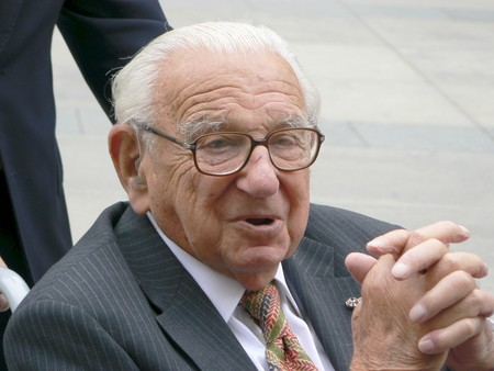 Nicholas Winton In Prague