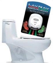 Para no volver a salpicar, His'n'Her Toilet Light