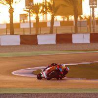 Jorge Martín da un golpe sobre la mesa en Moto2 mientras que Arón Canet sigue brillando en Losail