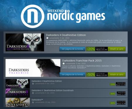 Nordic Games Precios