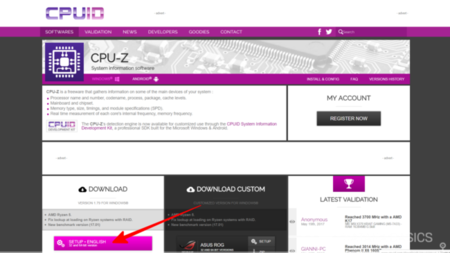 Cpuz Web