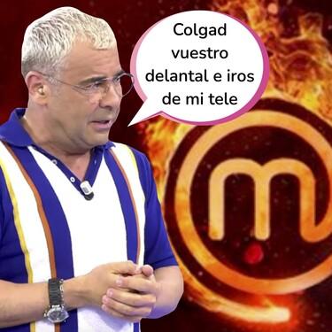 ¡Vuelan los cuchillos! Jorge Javier Vázquez carga gravemente contra 'MasterChef': acusa al programa de tongo y amenaza con demostrarlo