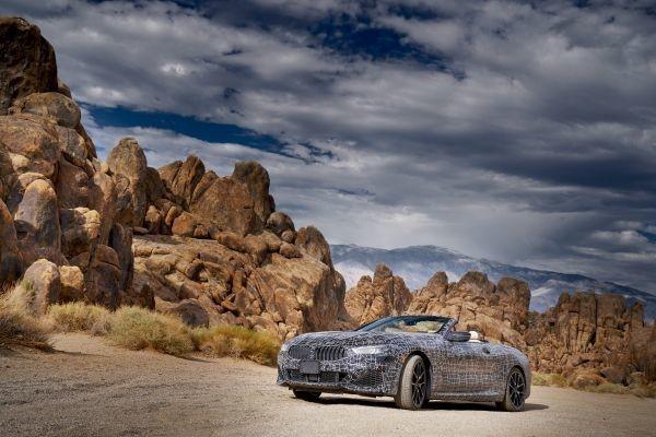 ¡Viva Las Vegas! Y sus alrededores, ideales para probar el nuevo BMW Serie 8 en clima extremo
