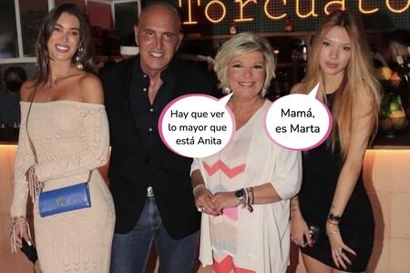 El fiestón de cumpleaños de Terelu Campos: invitados VIP, restaurante de lujo y el abrazo entre Matamoros y Alejandra Rubio