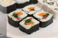 Receta de sushi de verduras