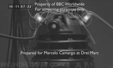 Marca de agua digital y Workprint de Doctor Who