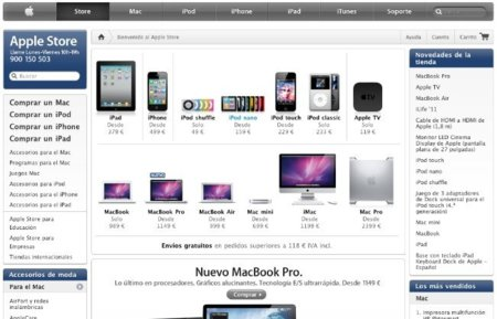 Apple busca ingenieros para rediseñar la Apple Online Store