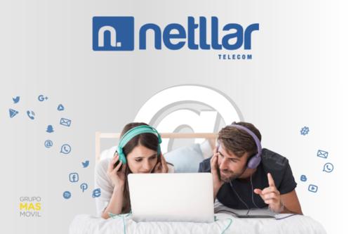 MásMóvil hace llegar su fibra a Netllar, que estrena nuevos combinados con móvil