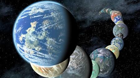 Imagen Conceptual Planetas Terrestres