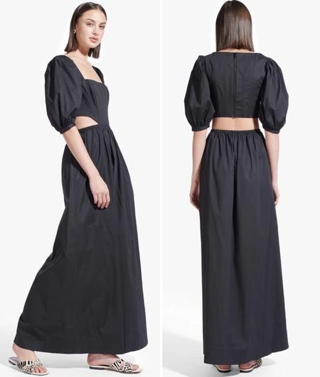 Staud Vestido Cut Out Zara 01