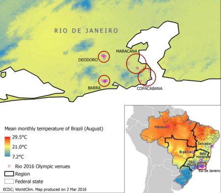 Temperaturas En Rio