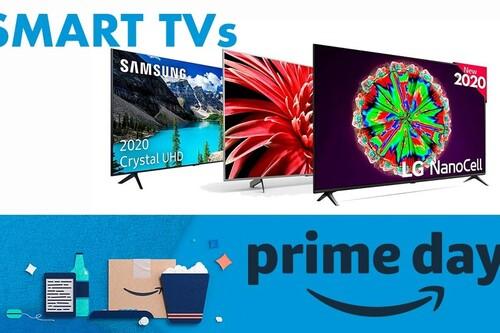 Amazon Prime Day 2020: mejores ofertas del día en televisores LG, Samsung, Sony o Philips
