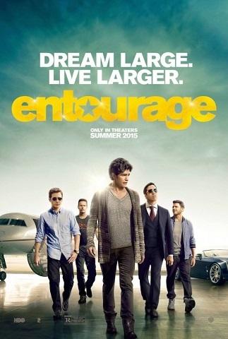 Cartel de 'Entourage'