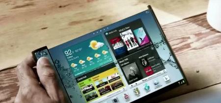 Pantallas elásticas, lo próximo de Samsung: ¿móviles irrompibles a la vista?
