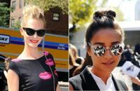 Duelo de top knots en Nueva York: Poppy Delevigne vs Shay Mitchell, ¡viva lo casual!