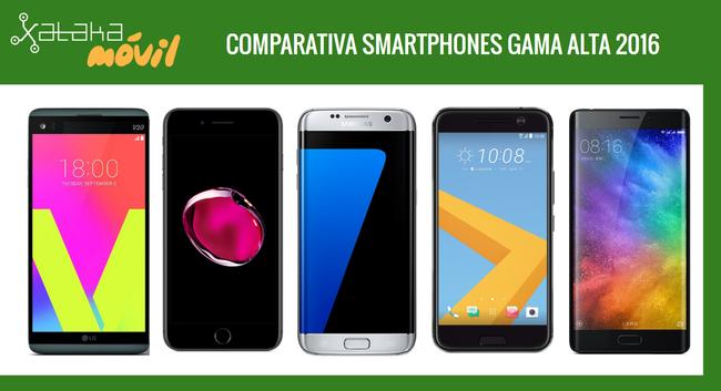Comparativa Definitiva Smartphones Gama Alta 2016