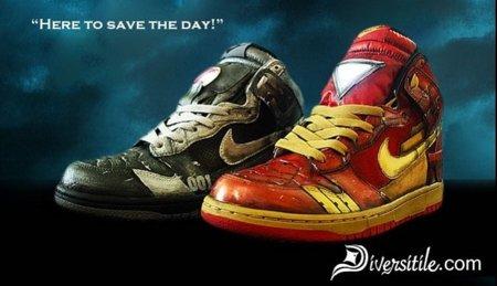 Zapatillas Nike de Iron Man