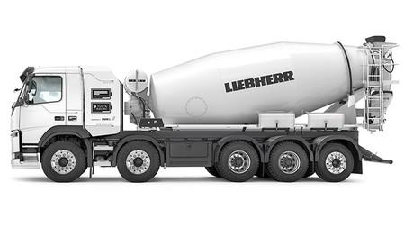 Liebherr ha lanzado la primera hormigonera 100% eléctrica, y con 670 CV puede mover hasta 40 toneladas