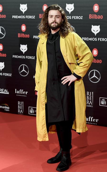 Eduardo Hurtado Premios Feroz Alfombra Roja Red Carpet Trendencias Hombre