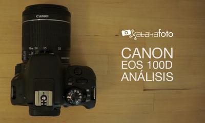 Canon EOS 100D, análisis