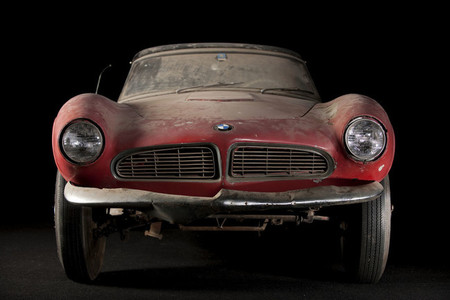 El segundo BMW 507 de Elvis Presley vuelve a Alemania