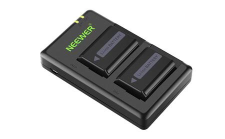 Neewer Cargador Y Baterias