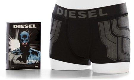 Diesel diseña una colección de calzoncillos inspirada en los comics de DC