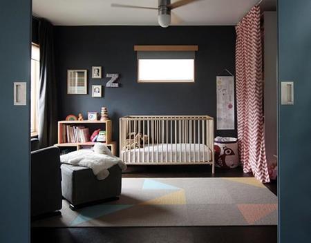 ¿Te atreves con el negro en dormitorios infantiles?