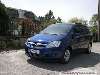 Presentación: Opel Zafira