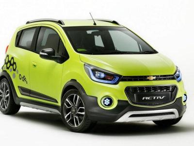 Chevrolet Activ Concept, el Spark que aparenta gustar de las escaladas