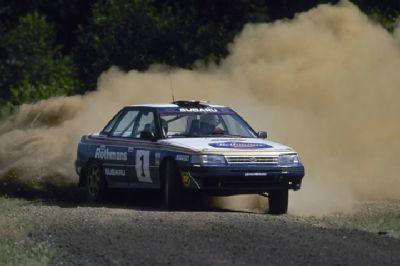 El Subaru Legacy'92 de Colin McRae a subasta