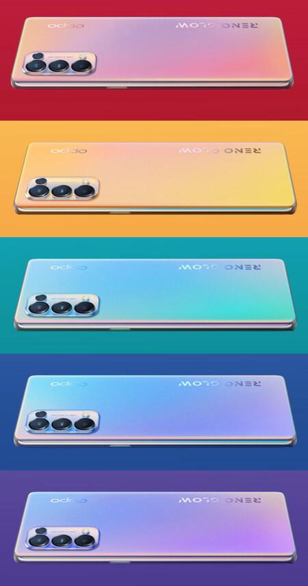 Oppo Reno5 Pro 5g Colores
