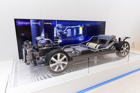Toyota FCV pila de combustible de hidrógeno