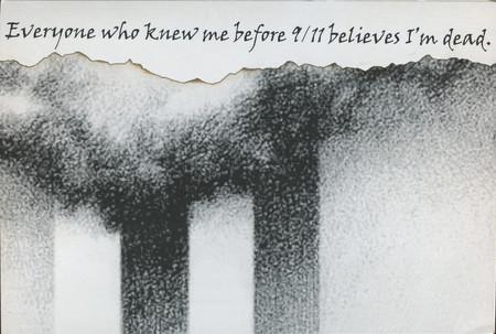Postal sobre el 11-S