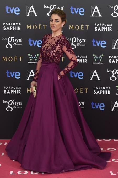 Premios Goya 2015: Blanca Suárez vuelve con fuerza a la alfombra roja