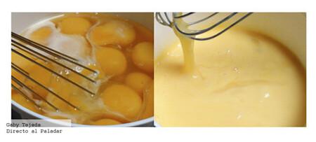 Huevos revueltos en canasta. Receta fácil para el desayuno