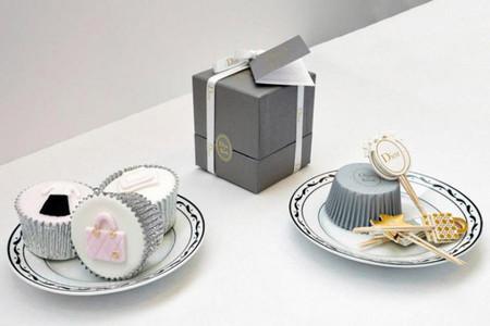 "Cupcakes Dior para un té muy ""british"""
