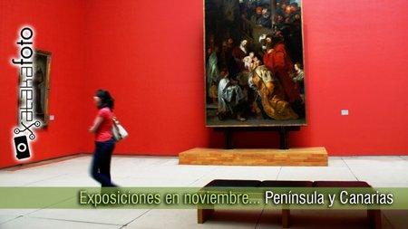 Exposiciones fotográficas en noviembre: Península e Islas Canarias