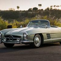 Este Mercedes-Benz 300 SL Roadster de 1960 podría superar el millón de euros en subasta