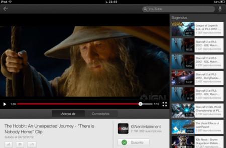 Youtube deja de dar soporte a su aplicación oficial en algunos dispositivos de Apple